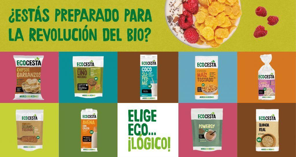 Ecocesta renueva su imagen y packaging mucho más alegre y fresco, con la misma calidad y sabores inolvidables